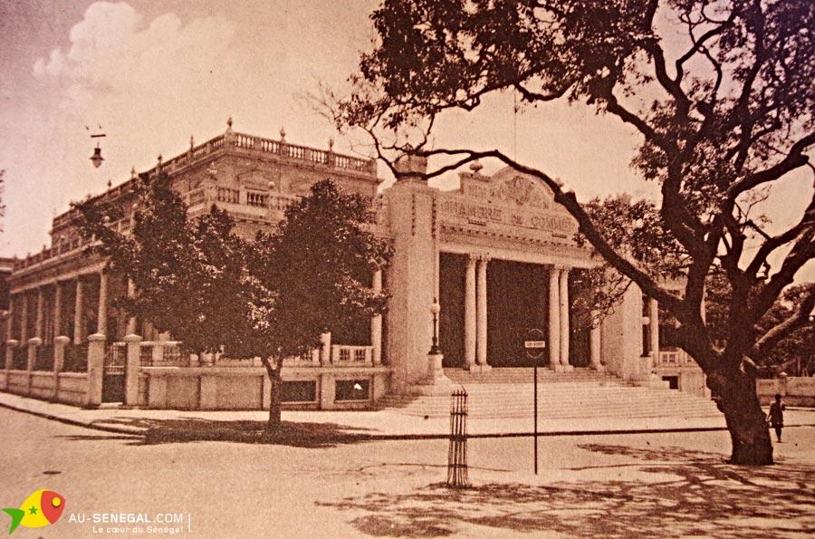 Dakar dans les ann es 1930 au s n gal le c ur du s n gal for Chambre de commerce de dakar