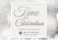 Time for celebration december au Pullman