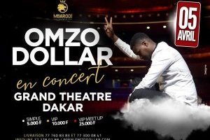 Omzo Dollar au Grand théâtre