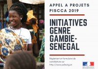 Appel à projets PISCCA 2019 : initiatives genre Gambie-Sénégal