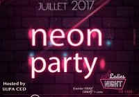 Neon Party au Duplex by Edgar