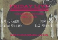 Friday live : concert Life and The One Soul Band au Phare des Mamelles