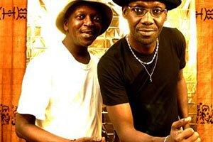 Le groupe « Touré Kounda » en live le 24 janvier 2015 à Ziguinchor