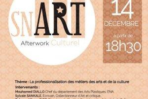 Sn Art : after work culturel spécial Partcours