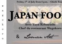 JAPAN FOOD - The Chiefs Tour