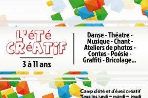 L'été créatif : camp de vacances pour enfant de 3 à 11 ans