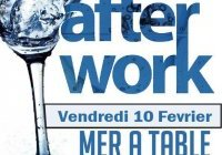 Soirée afterwork au restaurant La mer à table