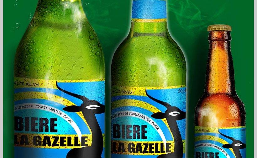 La bière « La Gazelle », patrimoine du Sénégal - Au Sénégal, le ...