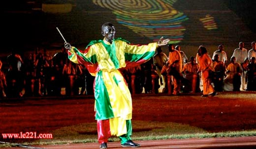 Doudou Ndiaye Rose au Fesman 2010