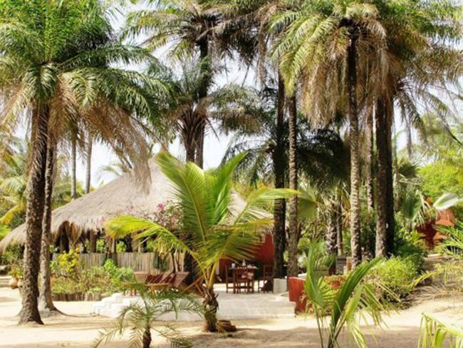 Un écolodge-Casamance-Sénégal