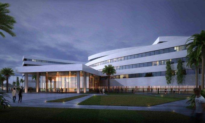 Projet du bâtiment des Nations unies