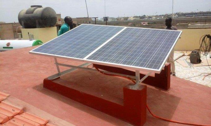 Electricité solaire à Dakar