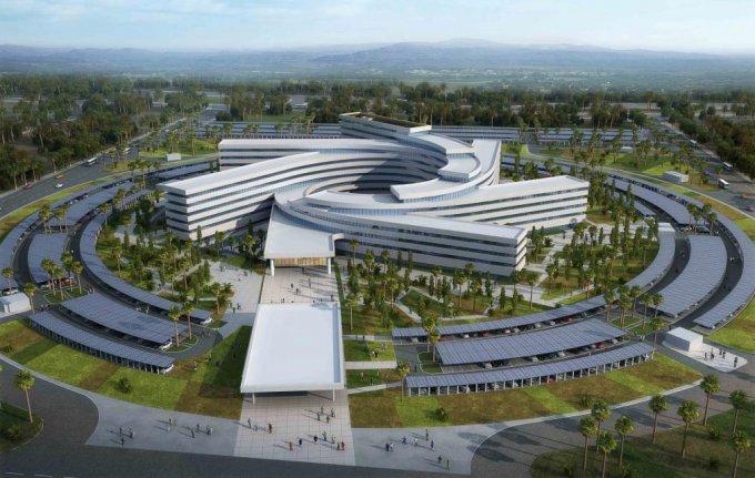 Le futur siège de l'ONU au Sénégal