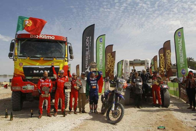 Podium final-Africa Eco Race 2019-Lac Rose-Sénégal