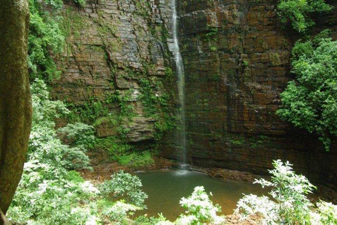 Le chutes de Dinddefelo-Kedougou-Sénégal