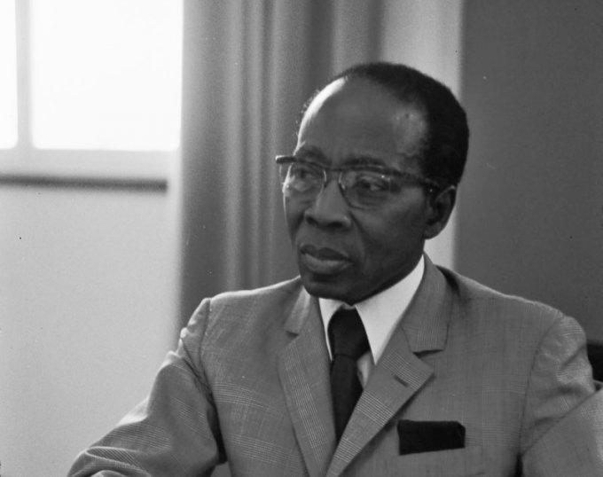 Léopold Sédar Senghor en 1975.